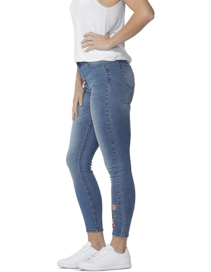Marlie Embroidered Jeans image 3