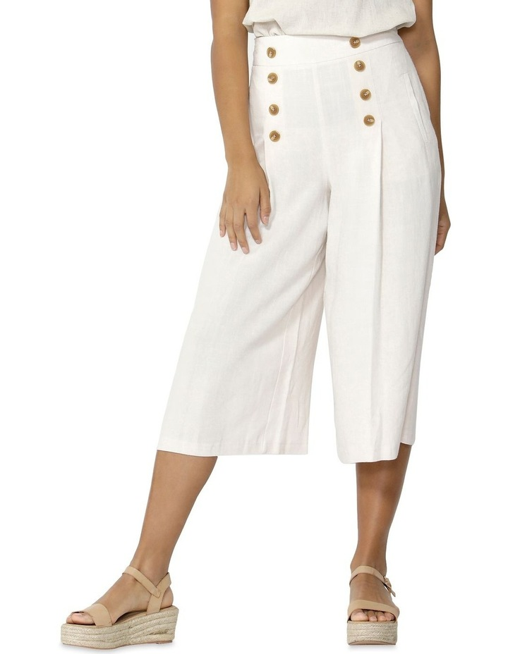 Paradising Buttoned Culottes image 1