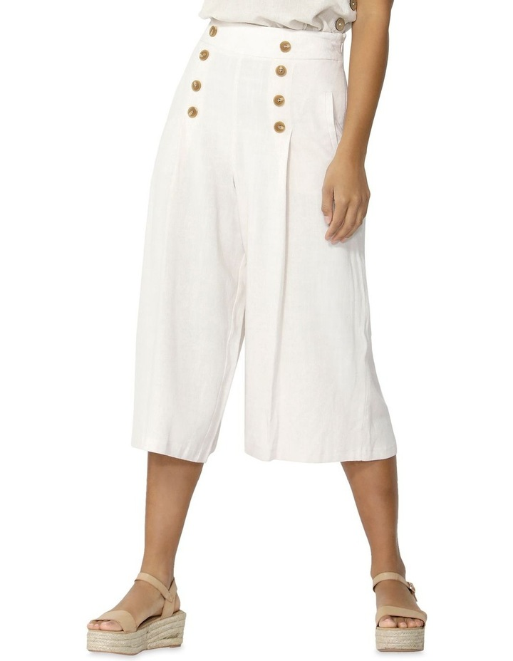 Paradising Buttoned Culottes image 2