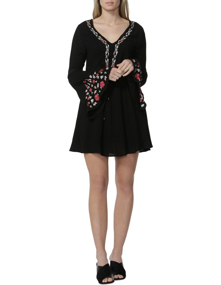 Daliah Embroidered Bell Sleeve Dress image 1