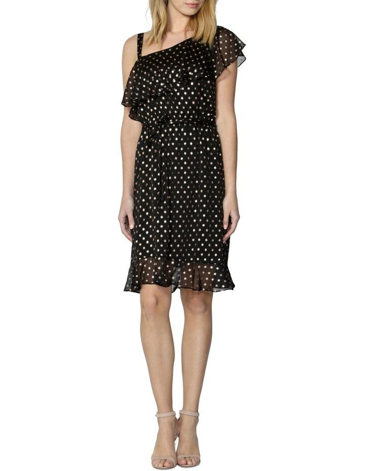 Nicolette Foil Spot Dress image 1