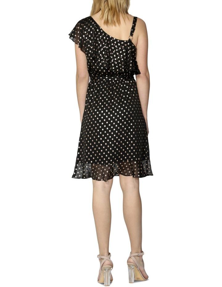 Nicolette Foil Spot Dress image 2