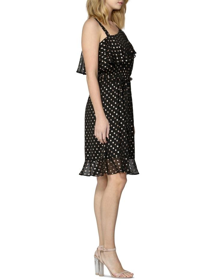 Nicolette Foil Spot Dress image 3