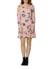Sass - Winter Blooms Ruffle Dress