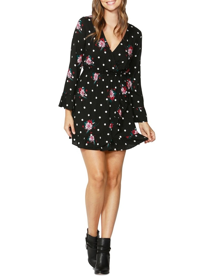Spot on Floral Ruffle Dress image 1