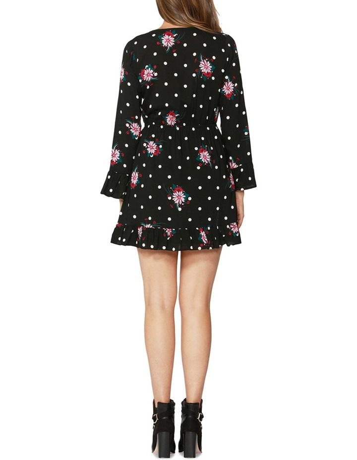 Spot on Floral Ruffle Dress image 2