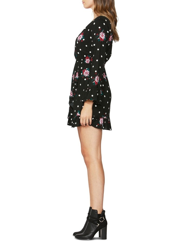 Spot on Floral Ruffle Dress image 3