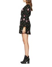 Sass - Spot on Floral Ruffle Dress
