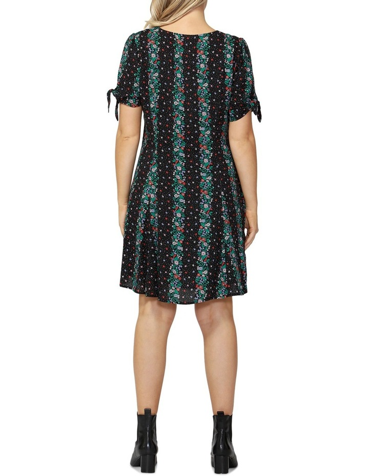 Falling Florals Tie Dress image 2