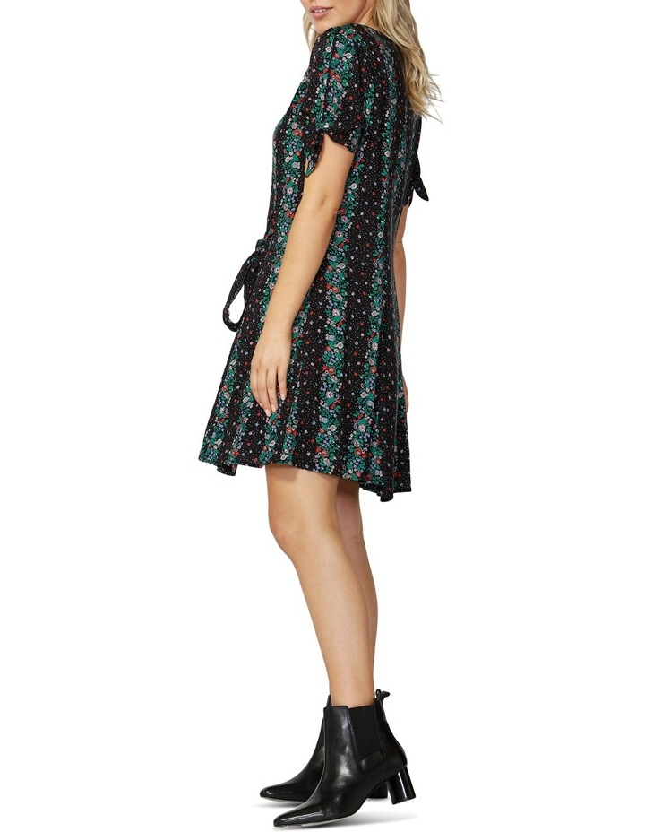 Falling Florals Tie Dress image 3
