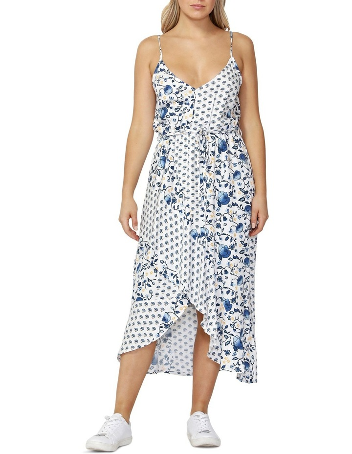 Havana Spliced Wrap Dress image 1