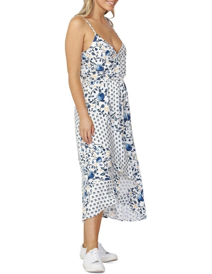 Havana Spliced Wrap Dress image 3