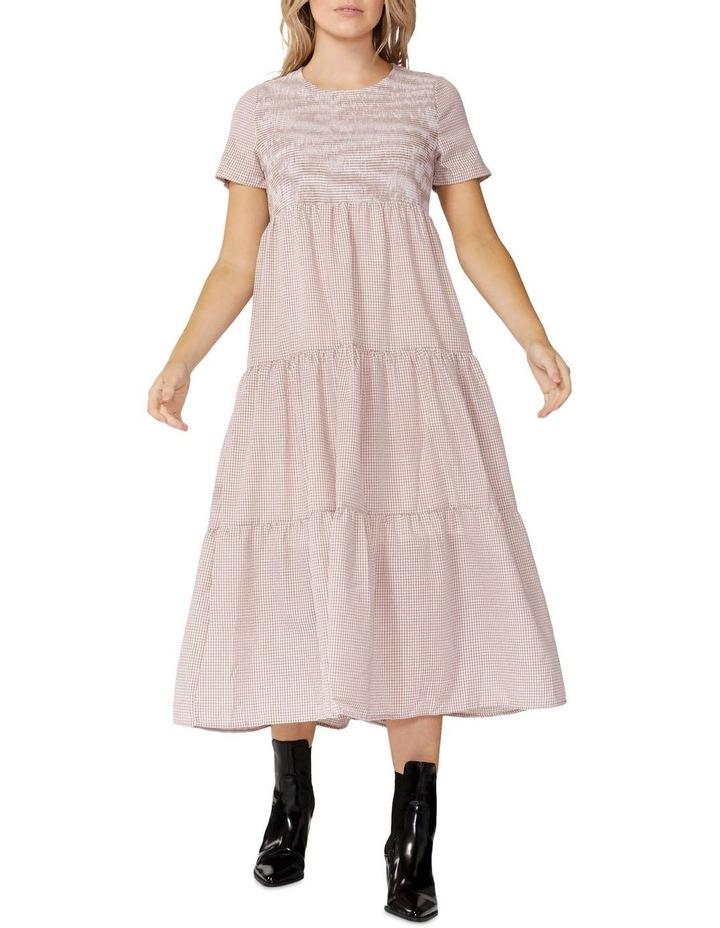 Homestead Gingham Midi Dress image 1