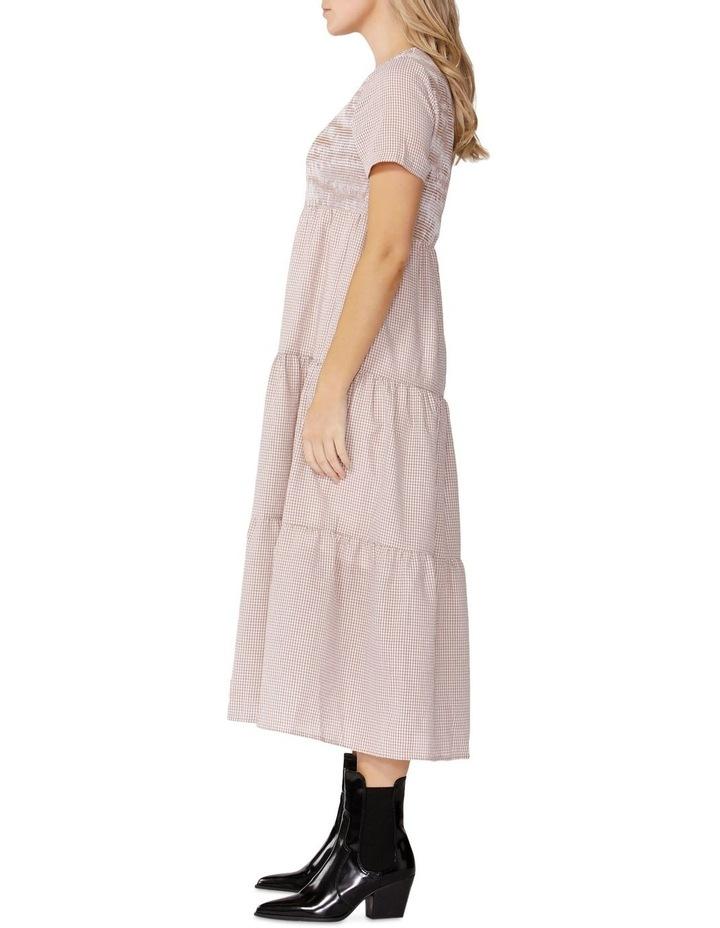 Homestead Gingham Midi Dress image 3