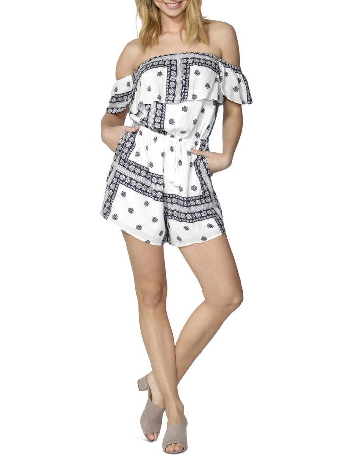 Amalfi Ruffle Sleeve Playsuit image 1