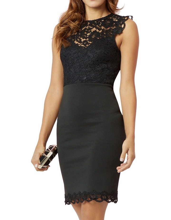 Lace Top Bodycon image 1