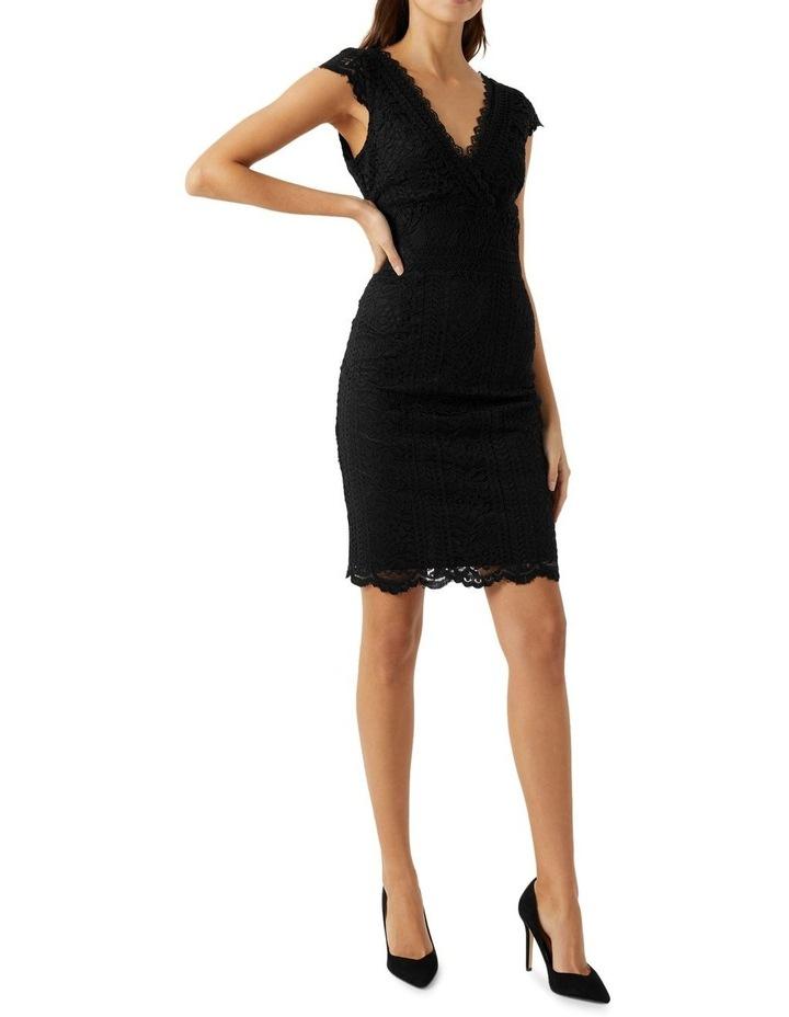 V-Neck Lace Dress image 1
