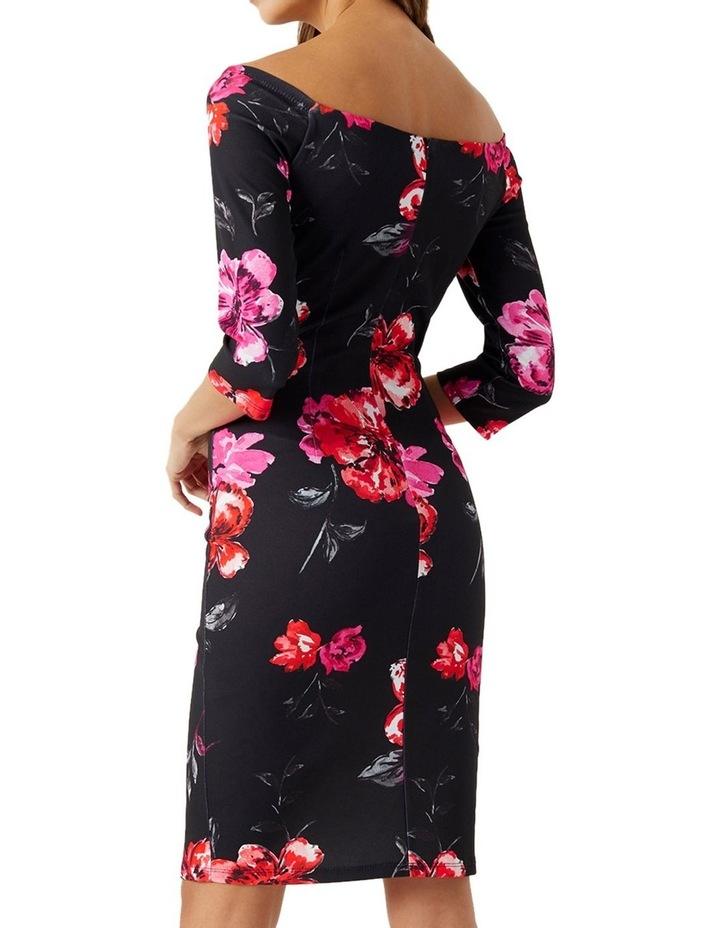 Printed Scuba Dress image 2