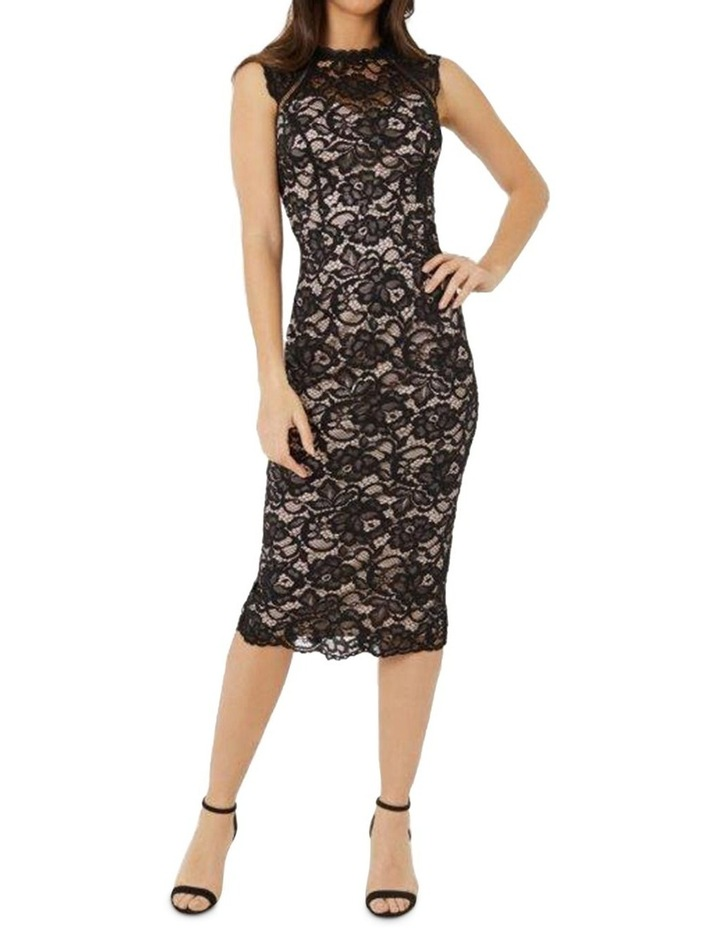 Lace Midi Dress image 1