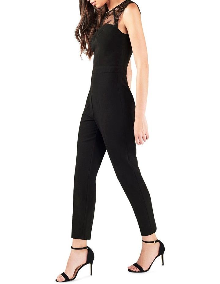 Black Sweetheart Lace Jumpsuit image 3