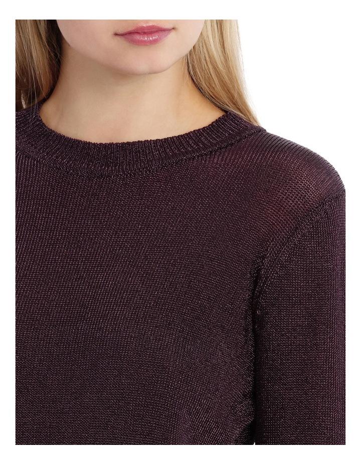 Metallic Long Sleeve Knit image 4