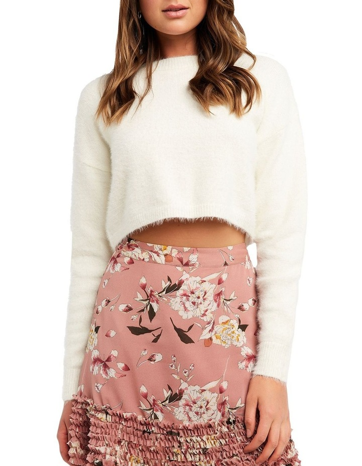 Cropped Fluffy Knit image 3
