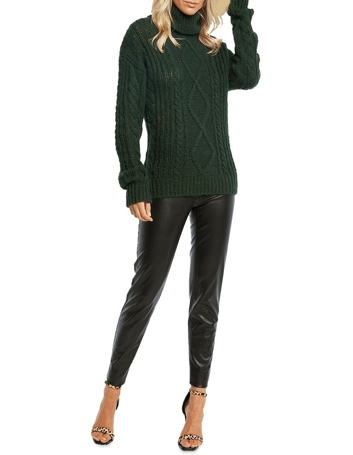 Roll Neck Cable Knit image 1