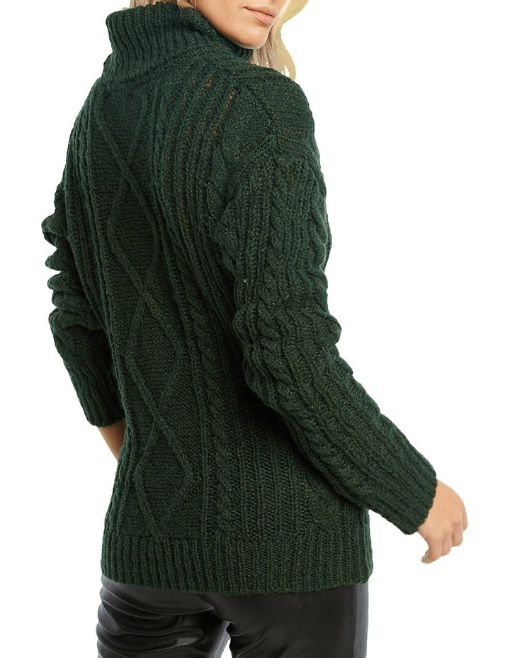 Roll Neck Cable Knit image 2