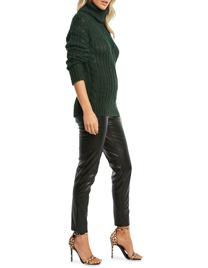 Roll Neck Cable Knit image 3