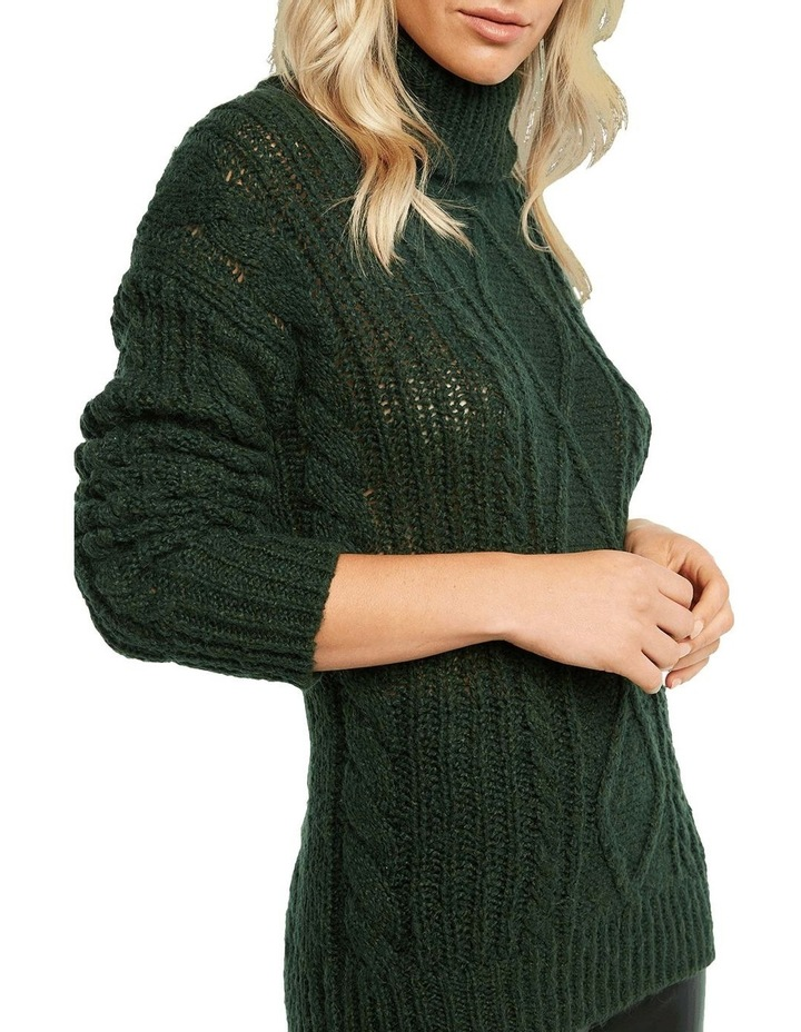 Roll Neck Cable Knit image 4
