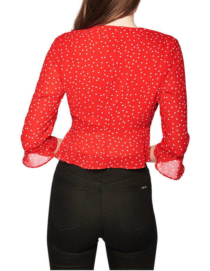 eeca37e8ee1 Bardot Spotty Wrap Top   eBay