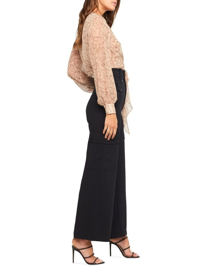 Ditsy Wrap Top image 3