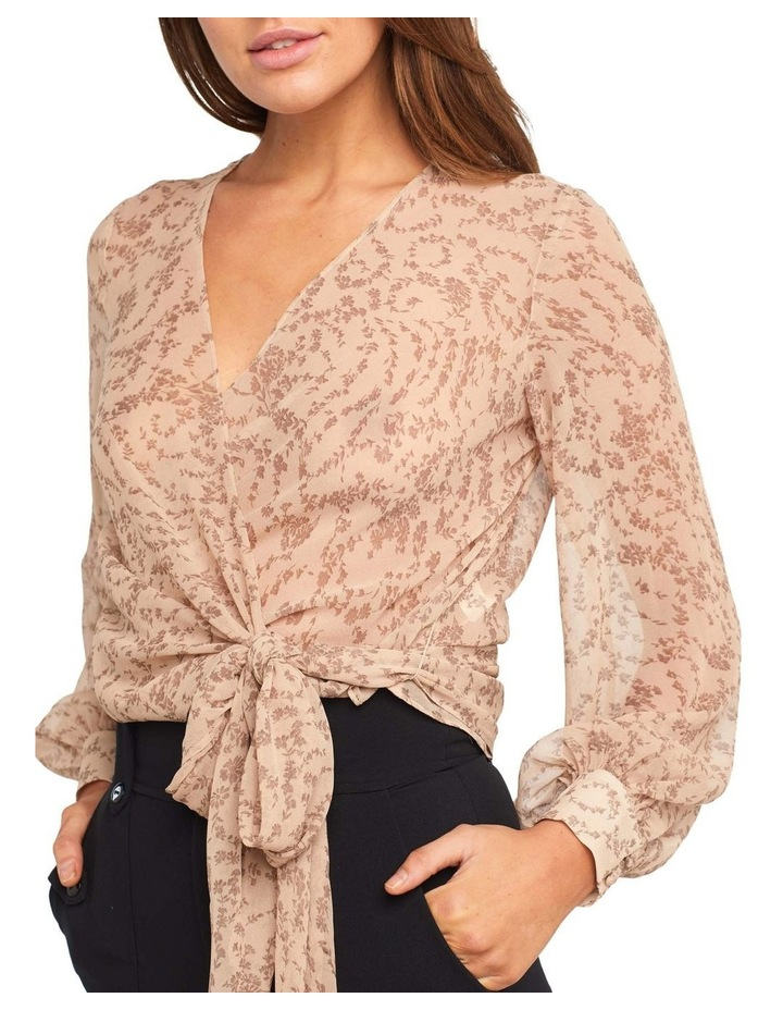 Ditsy Wrap Top image 4