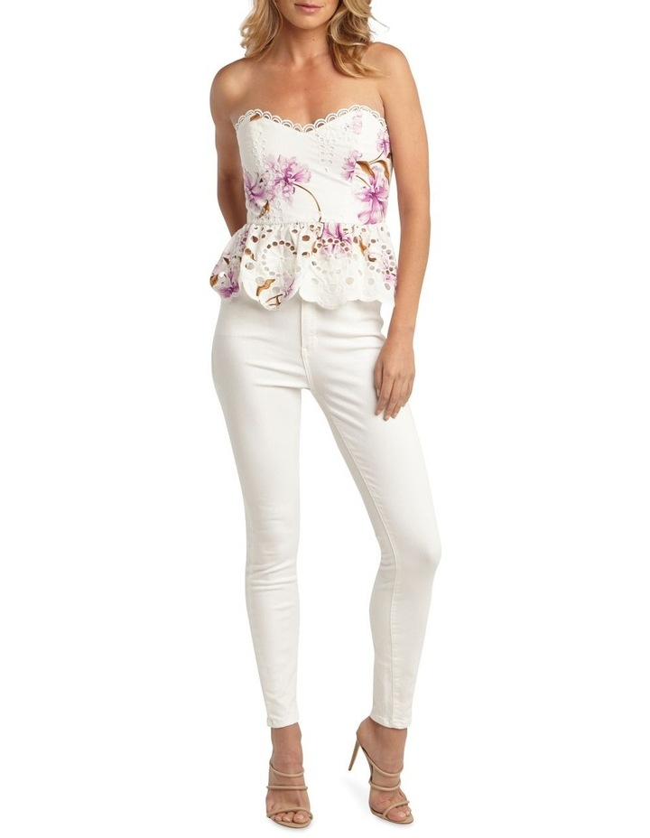 Floral Broiderie Bustier image 1