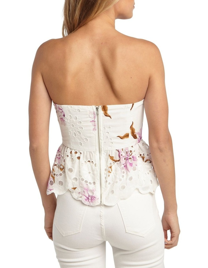 Floral Broiderie Bustier image 2