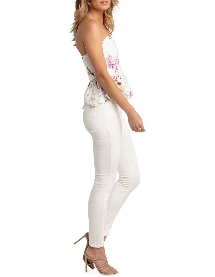 Floral Broiderie Bustier image 3