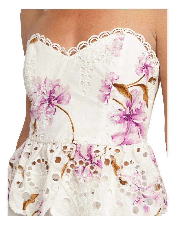 Floral Broiderie Bustier image 4