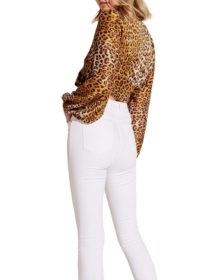 Eleanor Leopard Top image 2