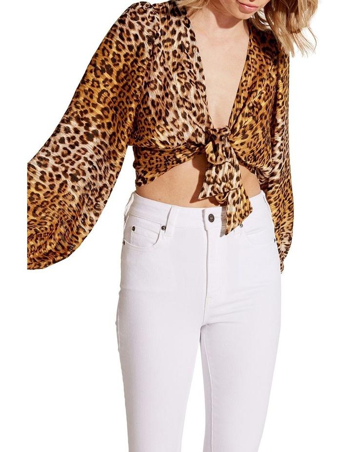 Eleanor Leopard Top image 4