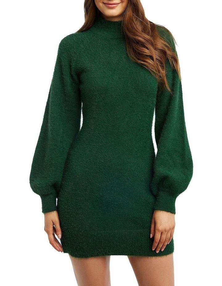Bardot 54000DB Bell Sleeve Knit Dress image 2