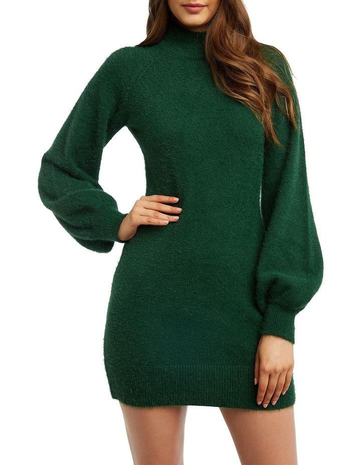 Bardot 54000DB Bell Sleeve Knit Dress image 3