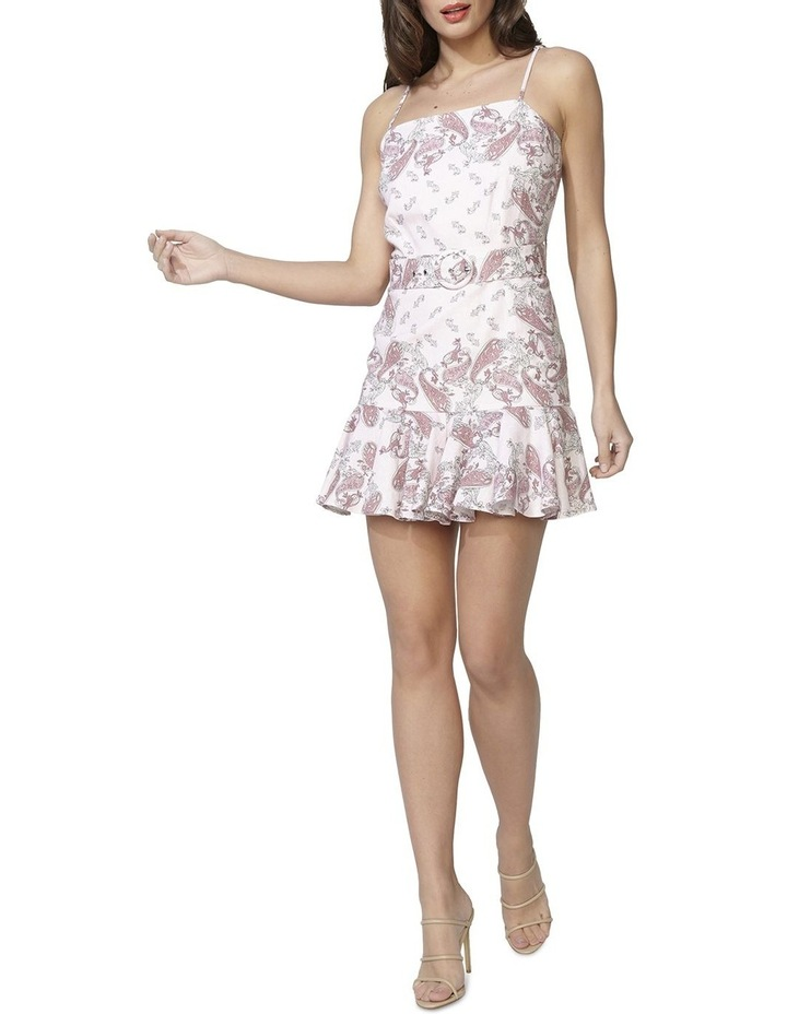 Paisley Linen Dress image 1