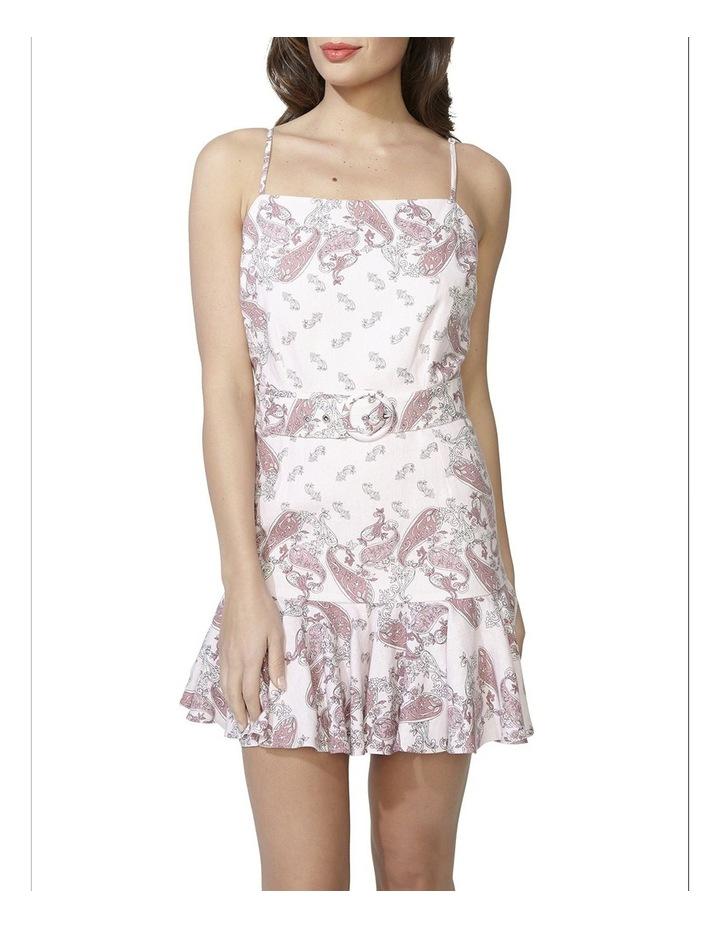 Paisley Linen Dress image 4