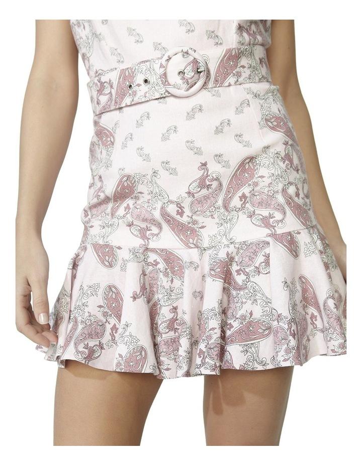 Paisley Linen Dress image 5