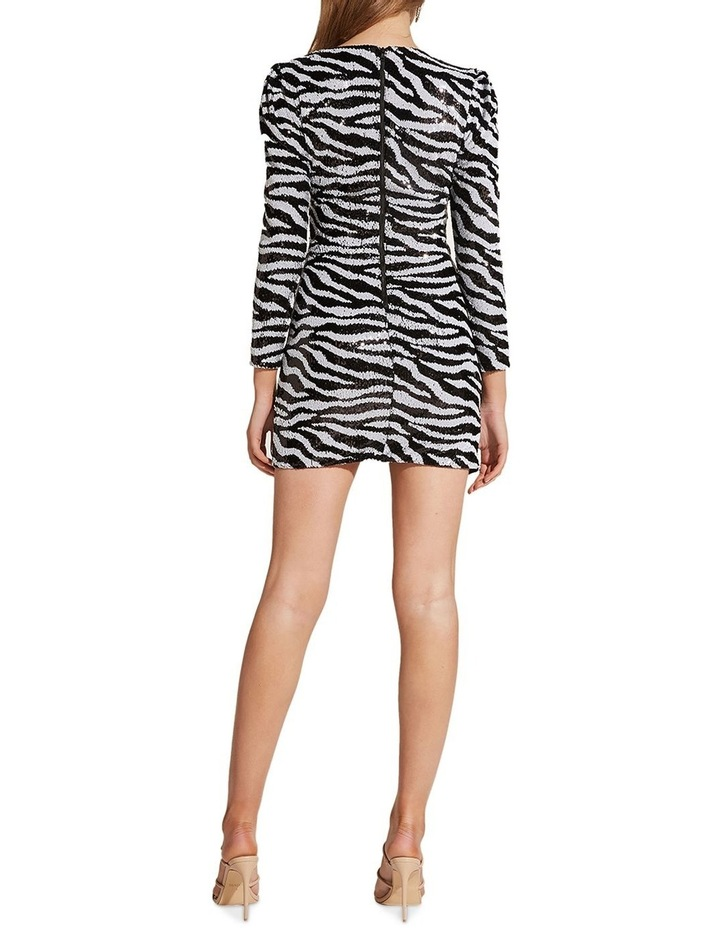 Sequin Zebra Dress image 2