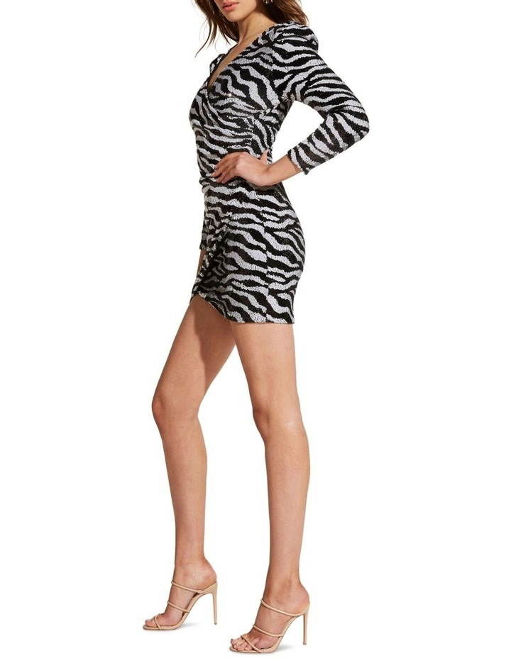 Sequin Zebra Dress image 3