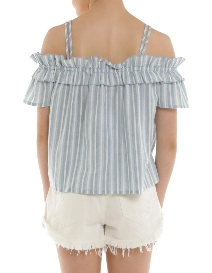 Stripe Off Shoulder Top image 2