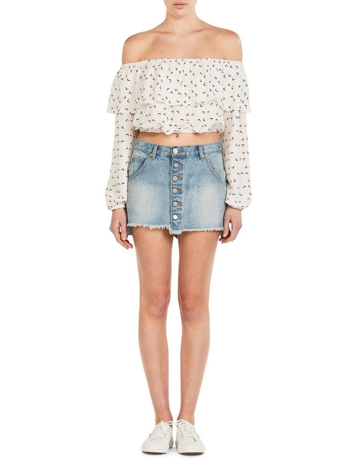 Fly away with me off shoulder top image 1