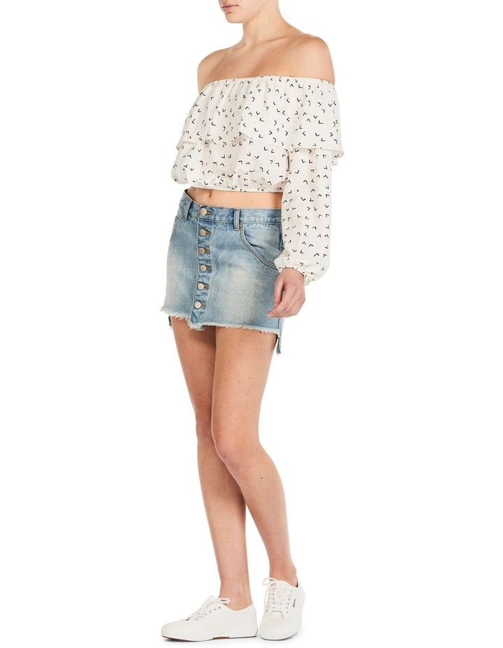 Fly away with me off shoulder top image 2