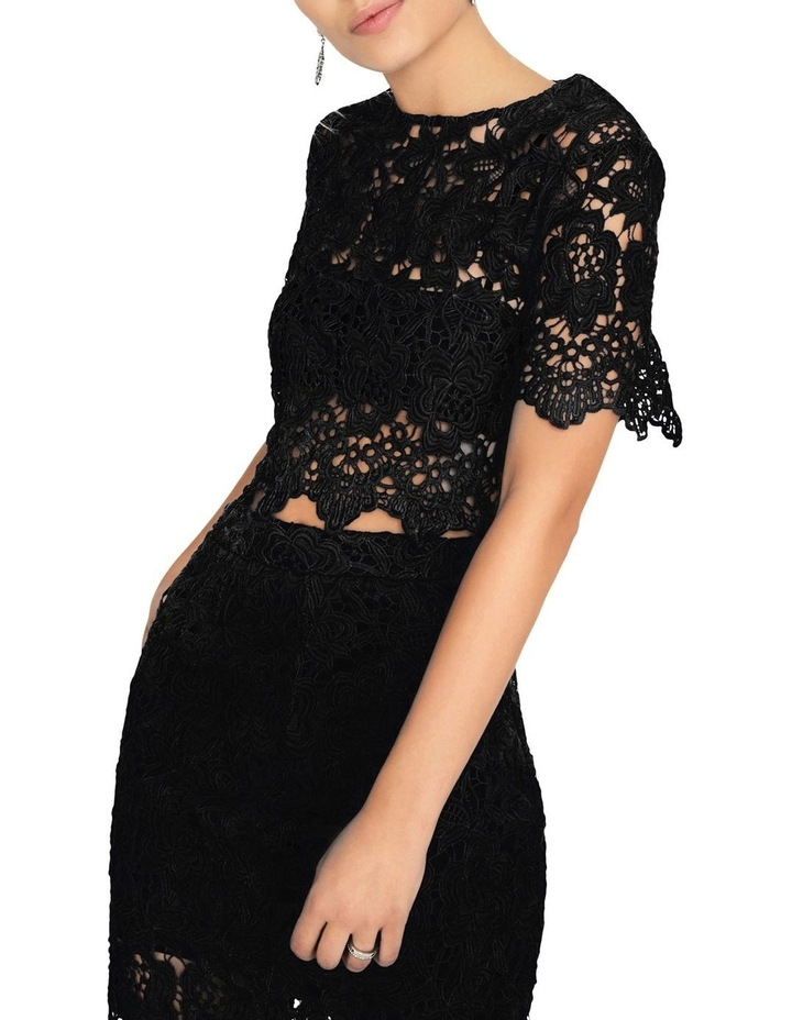 STRAIGHT CUT TOP IN CROCHET LACE image 4